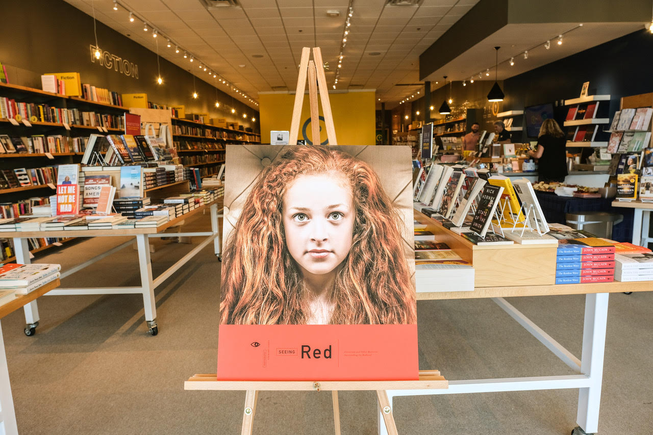 Seeing Red by Stewart Cohen Book Signing at Interbang Book Store in North Dallas